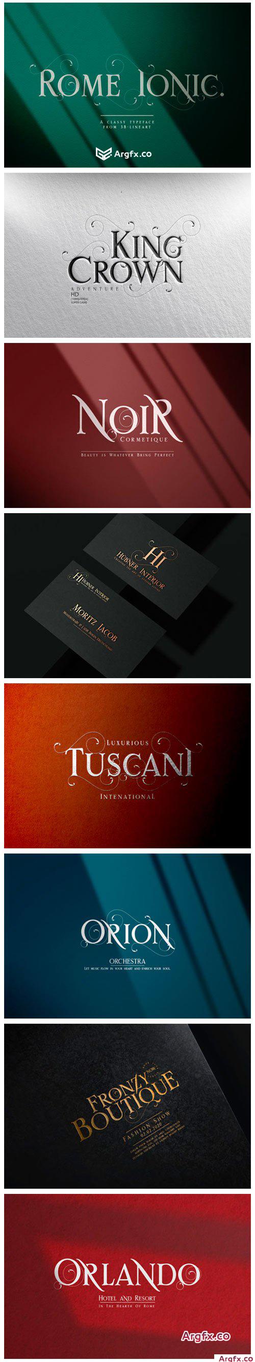 Rome Ionic Font