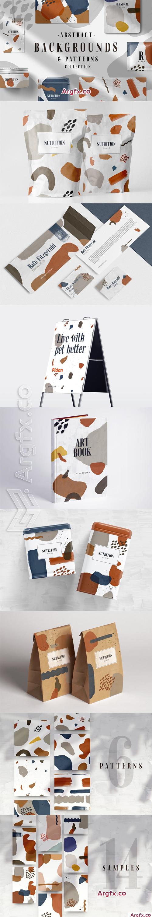 Abstract Patterns & Backs